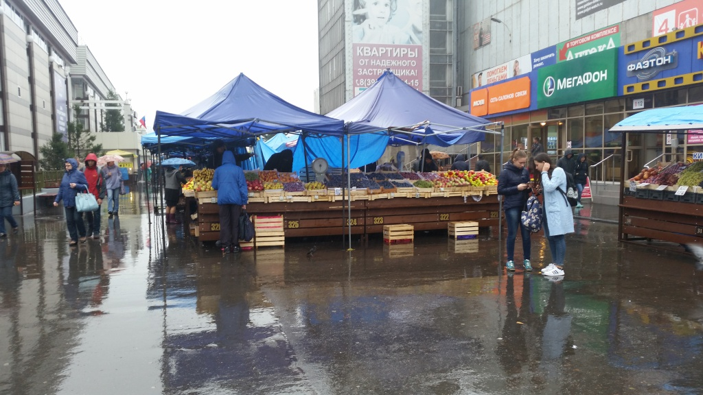 Central Market Irkutsk