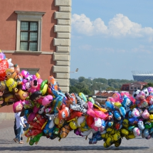 Kleurrijk Warschau
