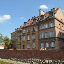 De oude stad van Warschau