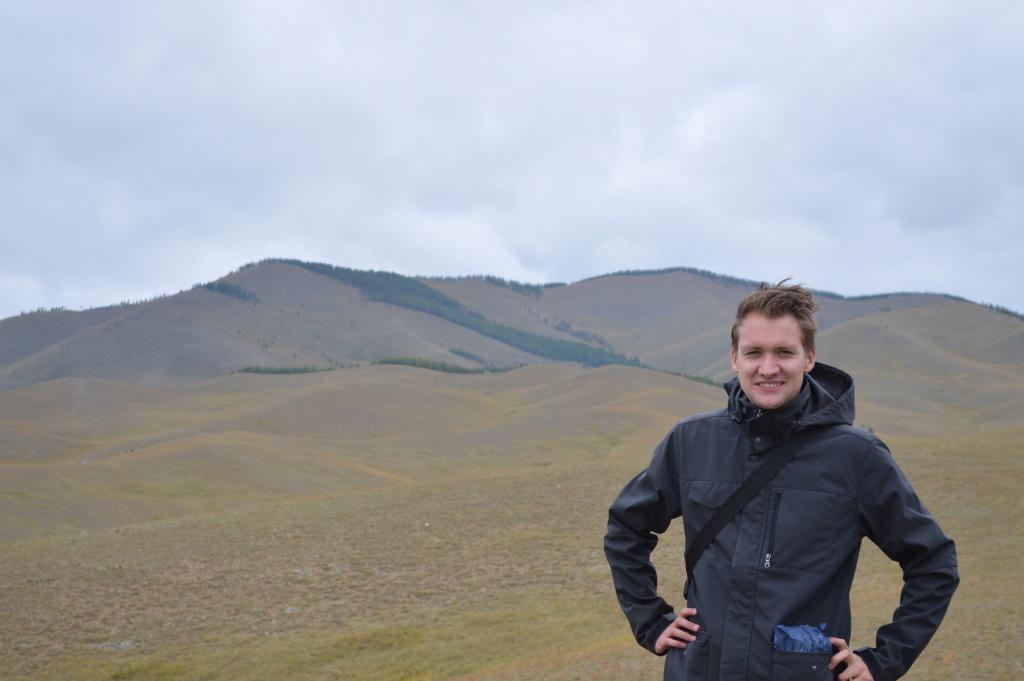 Hiken op de Mongoolse Vlaktes