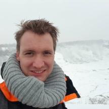 Selfie met de ''American''-Falls in Niagara Falls