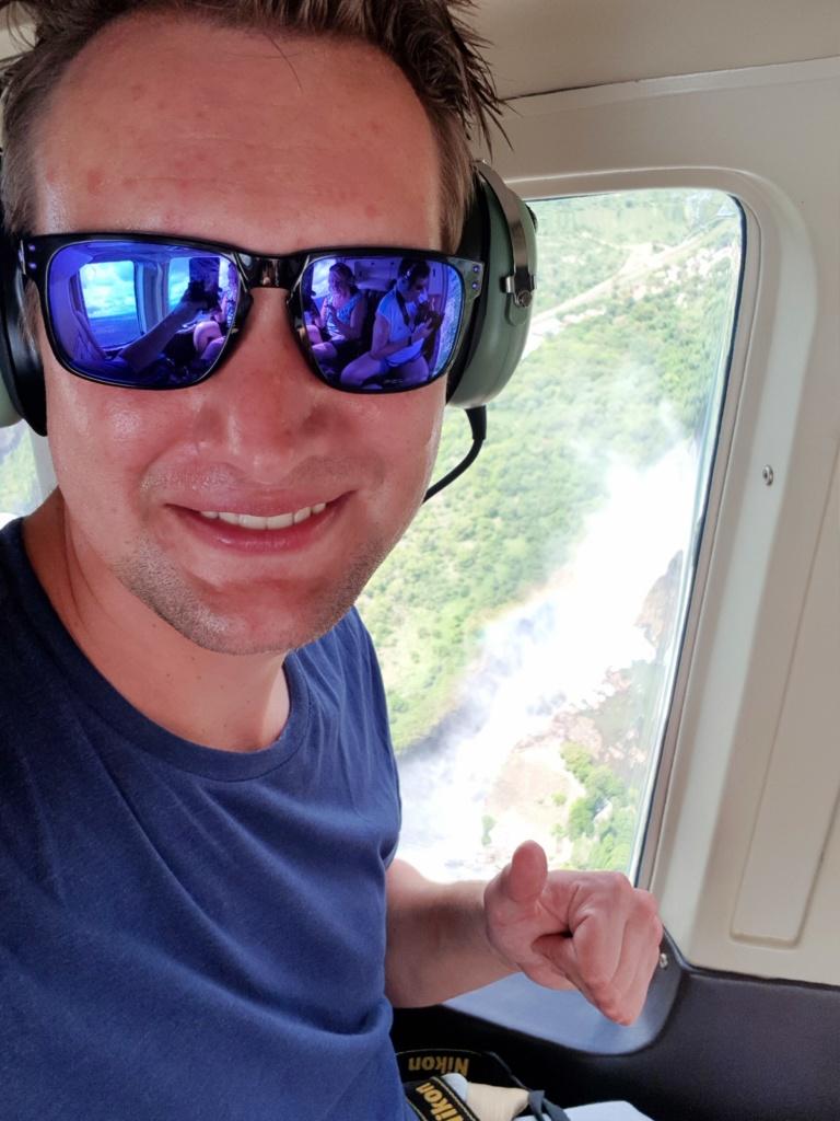 Helikopter vlucht Victoria Watervallen