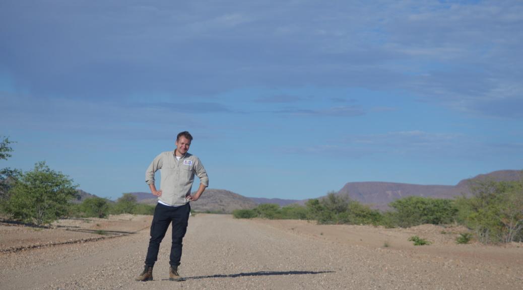 On the road to Etosha